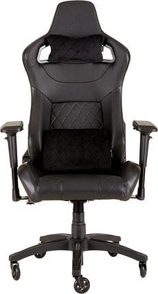 T1 RACE Spielstuhl schwarz