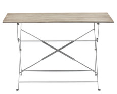 Table pliante BRAY, 120 cm