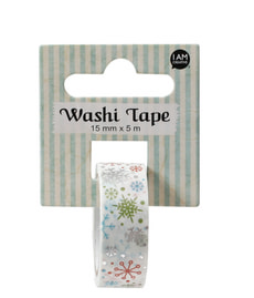 Washi Tape, flocons neige