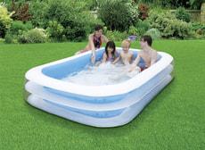 Family Pool eckig