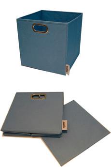 Boîte avec poignée métallic
