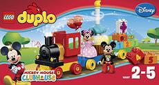 LEGO DUPLO Disney Il Trenino di Topolino e Minnie 10597