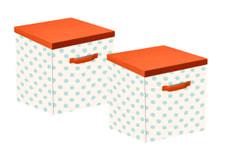 Set de 2 boîtes FLEXA forêt