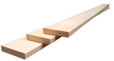Lame de terrasse en bois épicéa