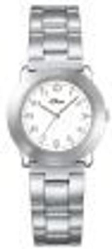 L- s.Oliver RONDO blanche montre