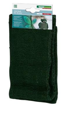 Jutesack 60/70 cm grün