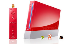 Wii Red 25. Anniversary Pack