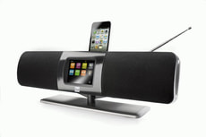 IR Soundsystem Radio Internet / DAB /FM avec iPod Dock