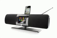 IR Soundsystem Internet / DAB / UKW Radio mit iPod Dock