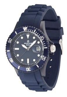 AB FASHION dunkelblau Armbanduhr
