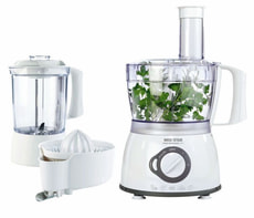 Küchenmaschinen-Set Food Processor 3in1