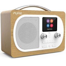 Pure Evoke H4 Digitalradio eiche