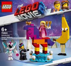 LEGO MOVIE 2 70824 Königin Wasimma Si-Willi