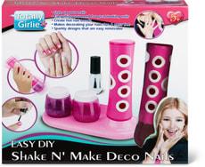 Totally Girlie Deco-Nagel Set