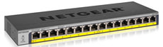 GS116LP-100EUS 16-Port PoE/PoE+ 76W