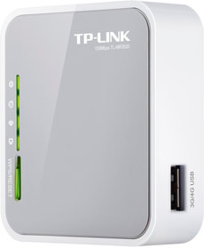 TP-Link TL-MR3020 Router 3G/4G Portatile Wireless N