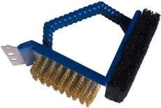 Brosse pour grill 3 in 1 court