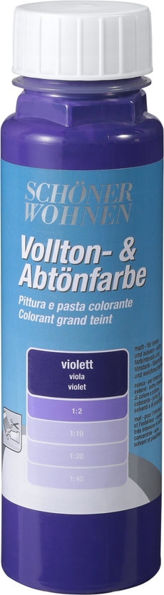 Colorant grand teint Violet 250 ml