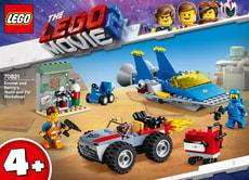 LEGO MOVIE 2 70821 Emmets und Bennys Werkstatt