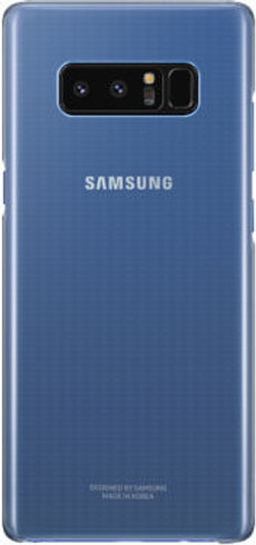 Clear Cover Note 8 deep blue