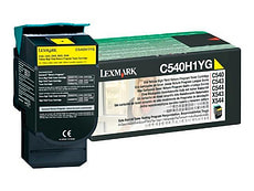 LEXMARK Toner-Modul C540H1YG, gelb