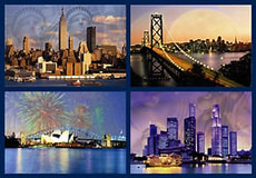 PUZZLE 18000 T. SKYLINES