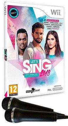 Wii - Let's Sing 2018 Hits français et internationaux + 2 Mics F