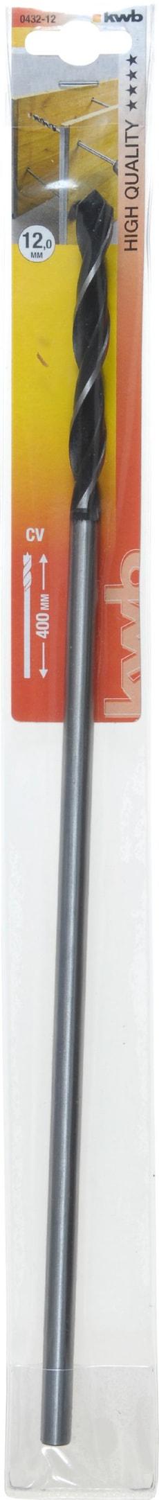 Holz Schalungsbohrer, 400 mm, ø 12 mm