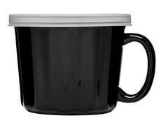 Soup Cup Schwarz