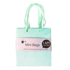 Minibags, grün 8 x 8.9 x 4 cm, 3 Stk.