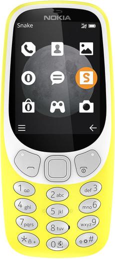 3310 3G Single Sim  jaune