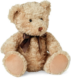 Ours Teddy brun avec boucle