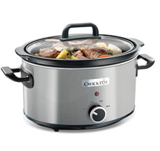 Slow cooker Schongarer 3.5l silber