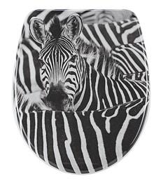 WC-Sitz Nice Zebra Slow Motion
