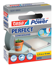 extra Power® Perfect 2.75m:19mm gris