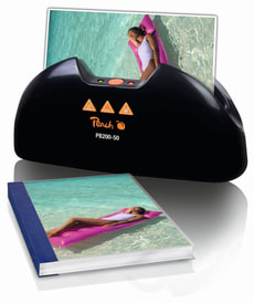 L-Peach Photo Size Thermal Binder PB200