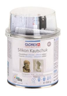 Caoutchouc silicone peu visqueux, 500g