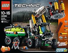W18 LEGO TECHNIC 42080 HARVESTER-FORSTMA