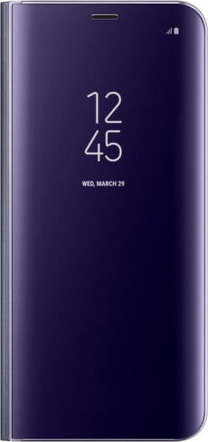 Clear View Standing Cover violet