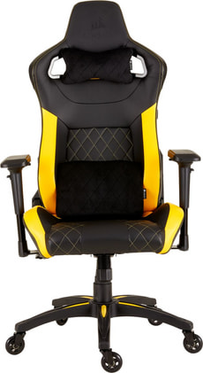 T1 RACE Fauteuil gaming jaune