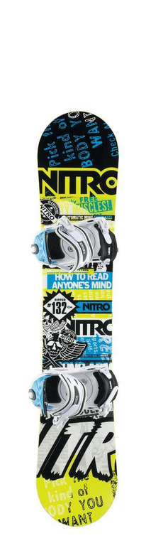 NITRO RIPPER INKL. CHARGER YOUTH WHITE