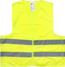 Gilet fluorescent de sécurité