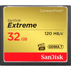 Extreme 120MB/s Compact Flash 32GB