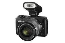 EOS M, 18-55mm schwarz Systemkamera