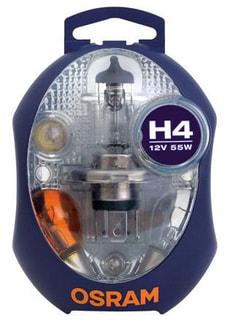 Ampoule Jeu d'ampoules H4