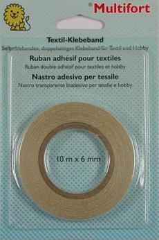 Textil-Klebeband 6mm x 10m