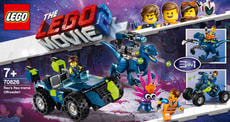 LEGO MOVIE 2 70826 Rex Offroad-Fahrzeug