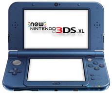 NEW 3DS XL Metal Blue