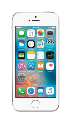 iPhone SE 32GB silber