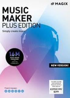 MAGIX Music Maker Plus Edition 2019 [PC] (D/F/I)